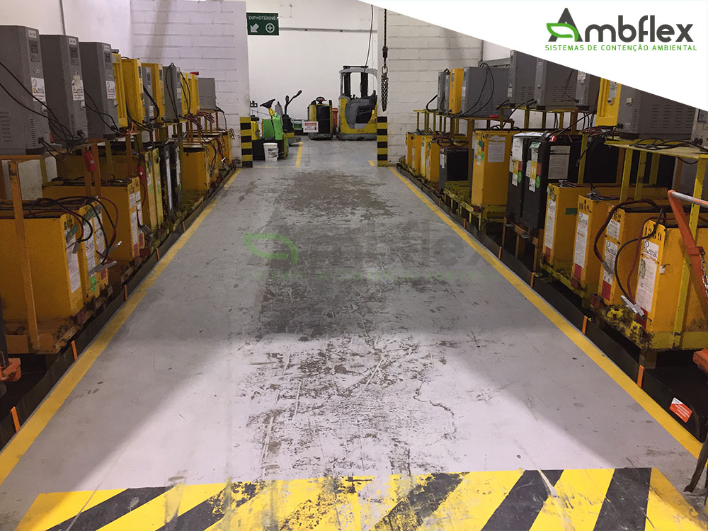 bacia de contenção para area de recarga de baterias de empilhadeira (1)